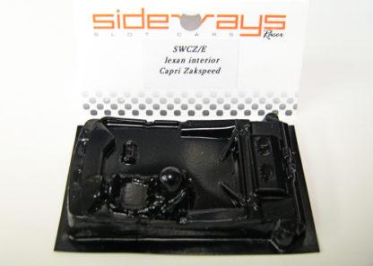 Sideways SWCZ/E Ford Capri Zakspeed Lexan Interior.