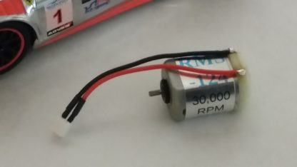 CARRERA 1/24 RMS-124 SUPER MOTOR 30K+ RPM With Wires, No Pinion Gear.