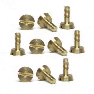 Slot.it SICH54B Slot.it Screws, 2.2x5.3mm, Brass Countersunk Head.
