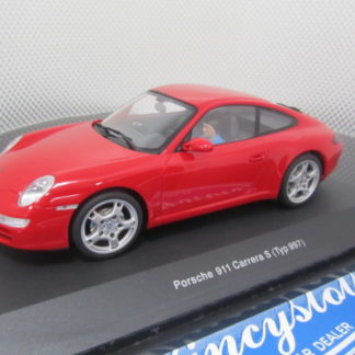 AutoArt 14122 1/24 Red Porsche 911 Carrera S Type 997.