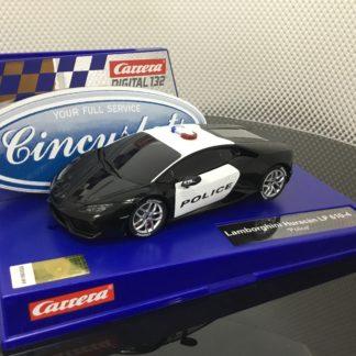 Carrera D132 30854 Lamborghini Hurican LP 610-4 Police.