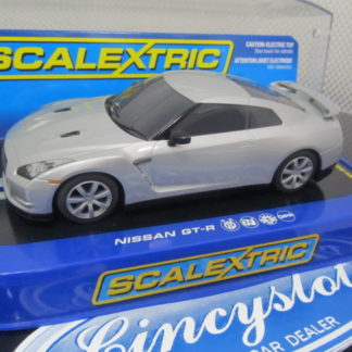 Scalextric C2991 Nissan GT-R Silver.