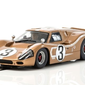 Scalextric C3951 Ford GT MKIV 24hrs of Le Mans Gold.