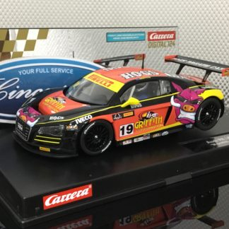 Carrera D124 23861 Audi R8 LMS Griffith Racing.