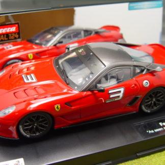 Carrera D124 23756 Ferrari 599XX #3.