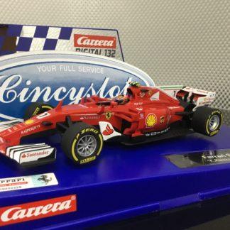 Carrera D132 30843 Ferrari F1 SF70H Raikkonen #7.