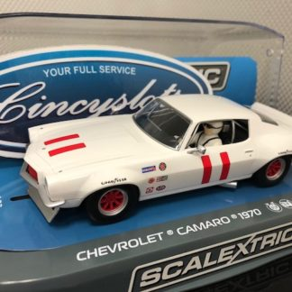 Scalextric C3922 Chevrolet Camaro Historic Trans Am.