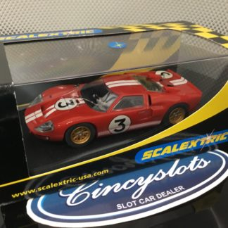 Scalextric C2509 Ford GT40 MKII 1966 Le Mans #3.