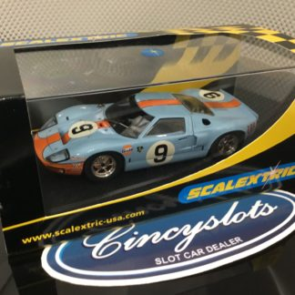 Scalextric C2403 Ford GT40 1968 Le Mans #9.