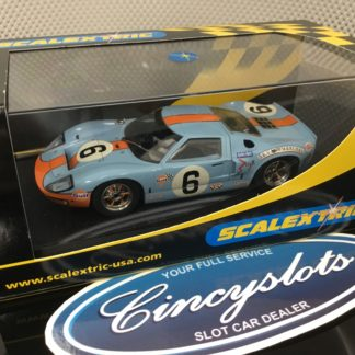 Scalextric C2404 Ford GT40 1969 Le Mans #6.
