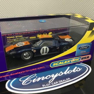 Scalextric C2755 Ford GT40 1967 Le Mans #11.