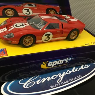 Scalextric Sport C2509A Ford GT40 MKII 1966 #3.