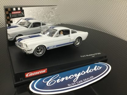 Carrera 25428 Ford Mustang GT350. Lightly Used, Looks New.