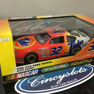 Scalextric C2346 Ford Tide Ford Taurus Nascar #32 Craven. Lightly Used, Looks New!!