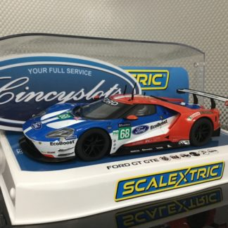 Scalextric C3857 Ford GT GTE 24 Hours of Le Mans #68 1/32 Slot Car.