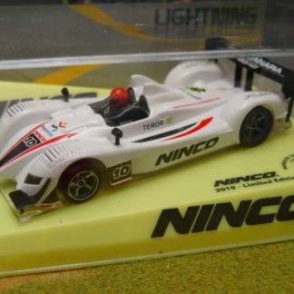 Ninco 50571 Acura LMP Lightning 2010 Ninco World Cup Slot Car.