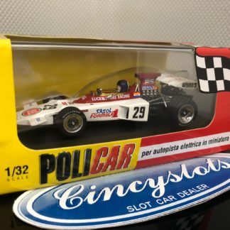 Policar PCAR02E Lotus 72 Lucky Strike Racing Brands Hatch. 1/32 Slot Car.