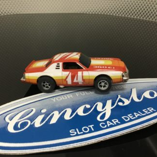AFX #14 NASCAR STOCK CAR HO SLOT CAR.