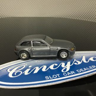 CUSTOM TYCO BMW Z4 COUPE HO SLOT CAR, SLIGHTLY USED.