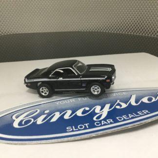 AUTOWORLD FAST & FURIOUS CHEVY CAMARO YENKO BLACK HO SLOT CAR. NEW.