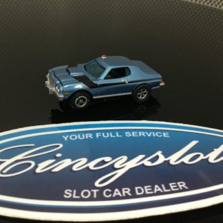 AutoWorld Ford Torino Undercover Police HO Slot Car. NEW.
