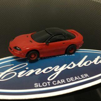 TYCO CHEVROLET CAMARO RED HO SLOT CAR, LIGHTLY USED.