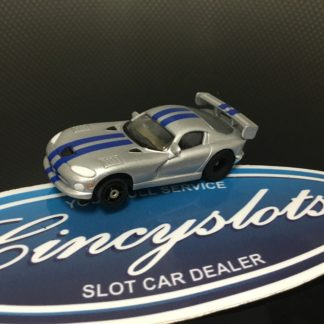 AutoWorld Viper Body with AFX G-Plus Chassis HO Slot Car.