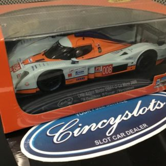 Slot.It CA31C GULF LOLA ASTON MARTIN LMP LE MANS 2009 VERSTAPPEN 1/32 Slot Car.