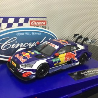 Carrera D132 30860 Red Bull Audi RS 5 Ekstrom 1/32 Slot Car.