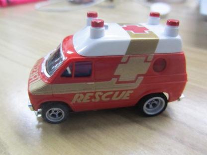 AFX Red Dodge Rescue Van 4gear. Looks New.