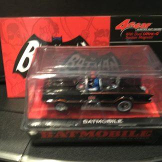 Autoworld Batman and Robin 4Gear Batmobile HO Slot Car.
