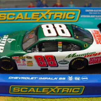Scalextric C2895 Chevrolet Impala SS Earnhardt JR #88 AMP 1/32 Slot Car.