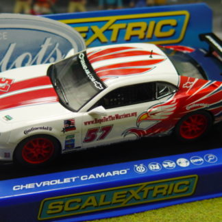 Scalextric C3289 Chevrolet Camaro Stevenson Motorsport 1/32 Slot Car.