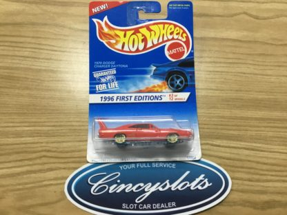 Hot Wheels 1996 First Editions 1970 Dodge Charger Daytona 3 of 12.