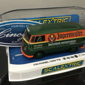 Scalextric C3938 VW Jagermeister Van Bus 1/32 Slot Car.