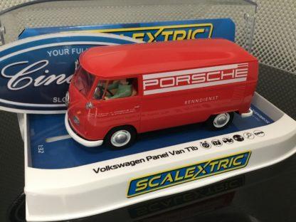Scalextric C3755 VW Porsche Service Van Bus 1/32 Slot Car.