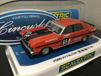 Scalextric C3928 Ford XY Falcon 1971 Bathurst #65 1/32 Slot Car.
