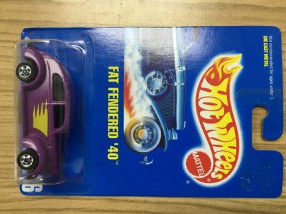 Hot Wheels Fat Fendered '40 Purple 216 4315.