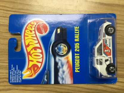 Hot Wheels European Release Peugeot 205 Ralle #3 2307.