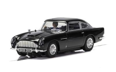 Scalextric C4029 Aston Martin DB5 Black 1/32 Slot Car.