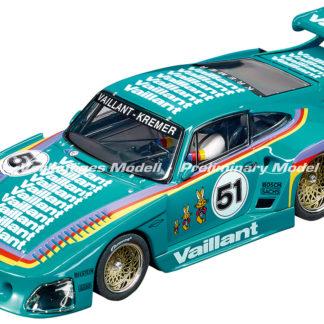 A Pre-order Carrera D132 30898 Porsche Kremer 935 Vailant #51 1/32 Slot Car.