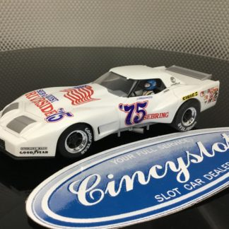 Monogram Revell 4857 Greenwood Corvette #75 1/32 Slot Car. NEW No Box.