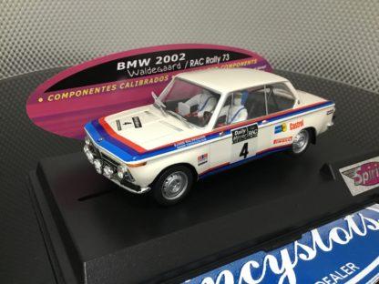 Spirit 601301 BMW 2002 Rally 1973 1/32 Slot Car.