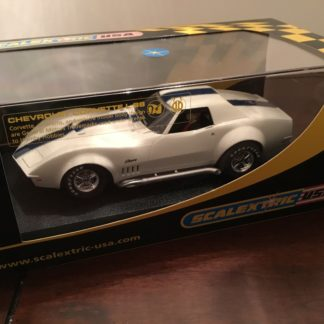 Scalextric C2575 Corvette L88 GM Test Car 1/32 Scale Slot Car. Lightly Used.