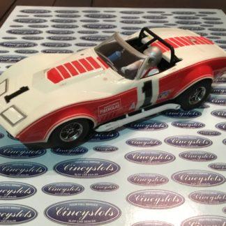 Scalextric C2566 Corvette L88 1969 Owens Corning 1/32 Scale Slot Car.