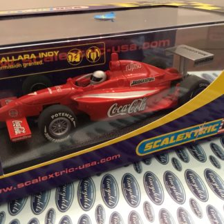 Scalextric C2515 Dallara Indy Coca Cola #7 1/32 Slot Car.