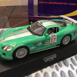 Scalextric C2738 Dodge Viper Foster Motorsports #17 1/32 Slot Car.