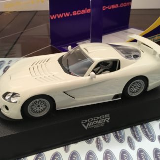 Scalextric C2634 Dodge Viper White Kit 1/32 Slot Car.