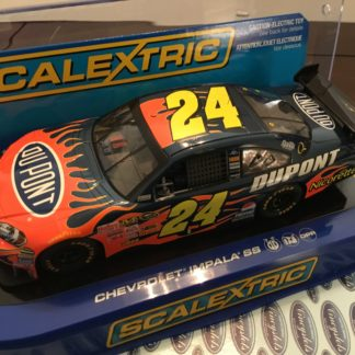 SCALEXTRIC C2893 COT NASCAR #24 CHEVY IMPALA SS JEFF GORDON 1/32 Slot Car. NEW