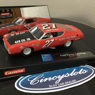 Carrera Evolution 25769 Ford Torino Talladega Donnie Allison 1/32 Slot Car.